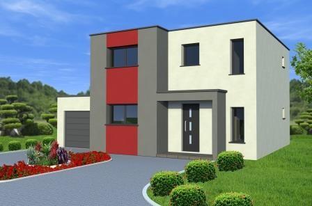 Construction Maison Toit Plat Alsamaison