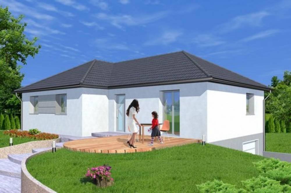 Cosswiller construire une maison de plain pied alsamaison - Une maison de plain pied ...