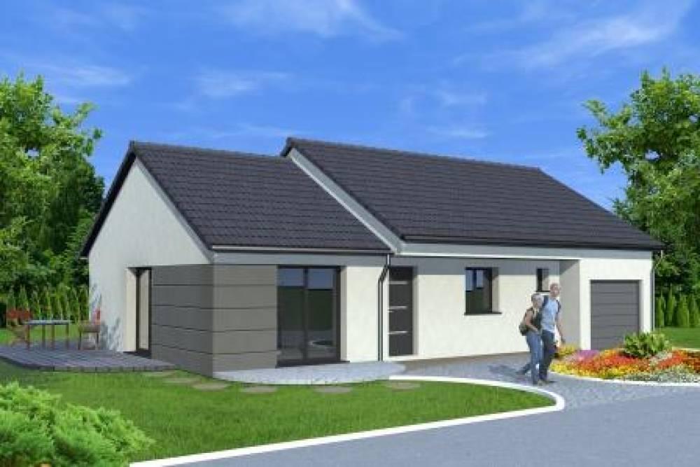 LUPSTEIN : Projet de construction d'une maison de plain-pied à partir de 252 806€