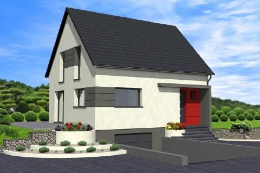 ESCHBACH : maison neuve RT 2012